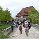 La muzeul satului in Bad Widsheim, toata lumea ne-a admirat
